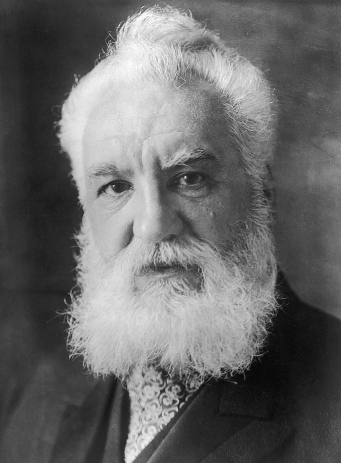Graham Bell Photograph by Topical Press Agency