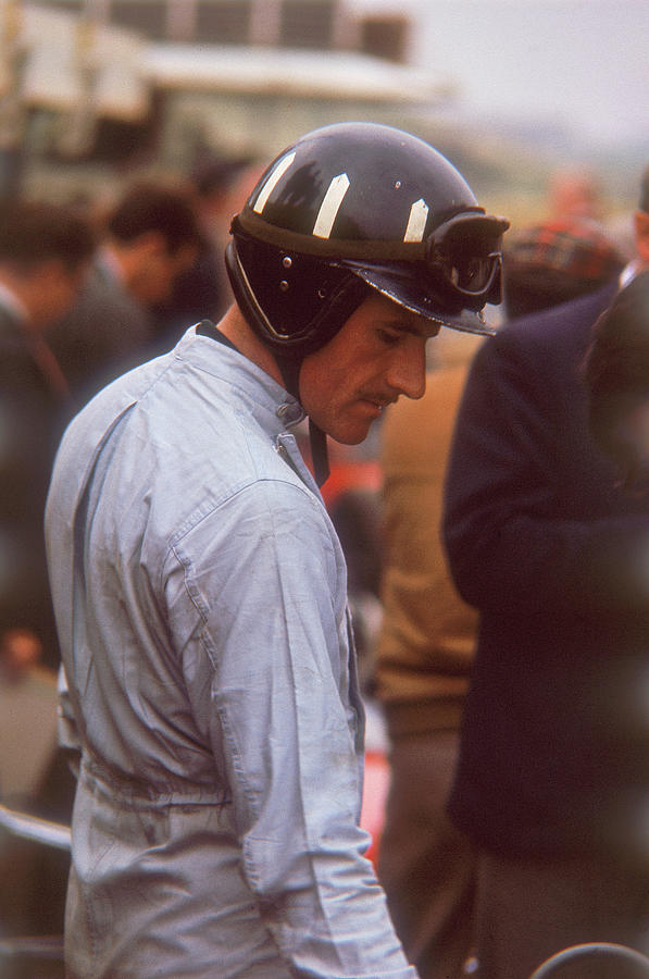 Graham Hill, Dutch Grand Prix Photograph by Heritage Images