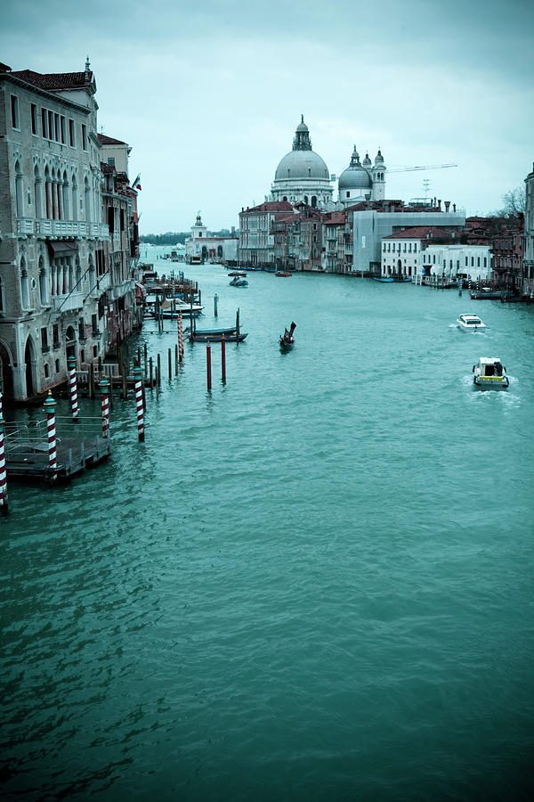 Gran Canale Photograph by T-lorien