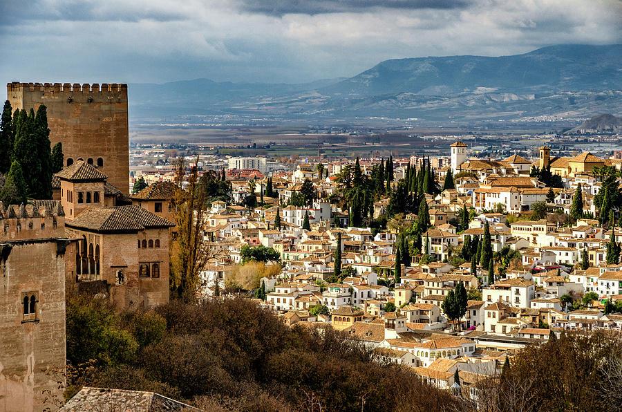 Granada and La Alhambra by Pablo Lopez