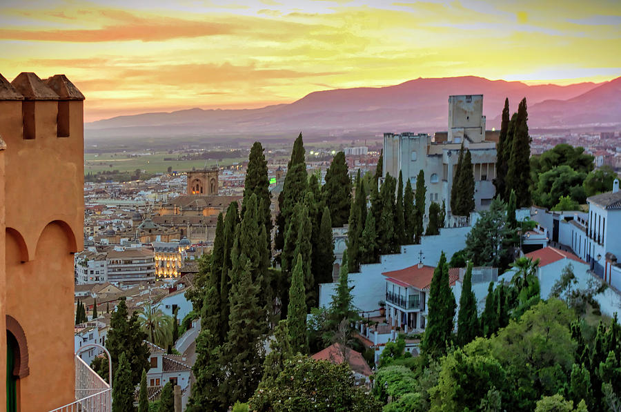 Granada Sunset by Tony Crehan