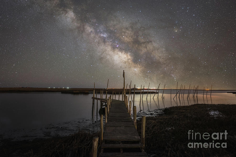 Grand Bay Milky Way  by Michael Ver Sprill