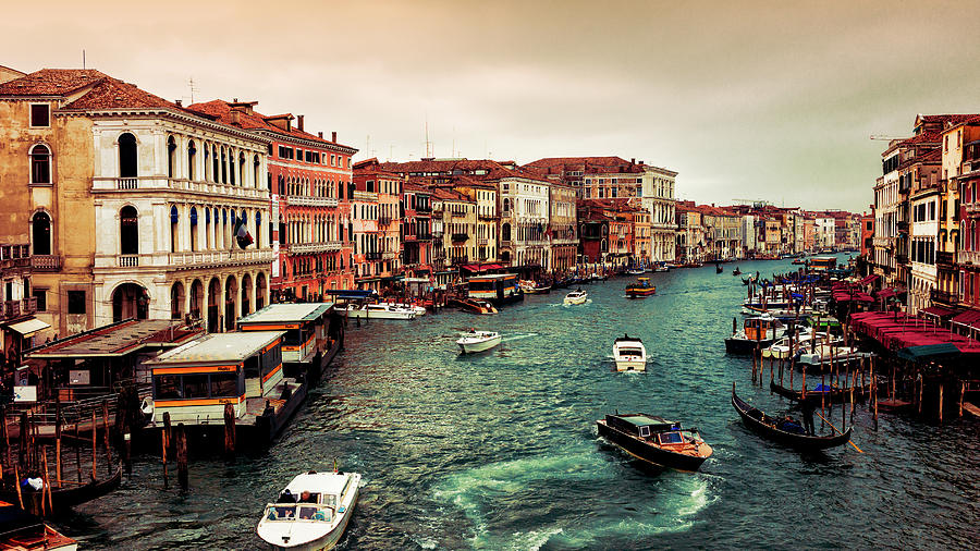 Grand Canal Photograph by Gomaba