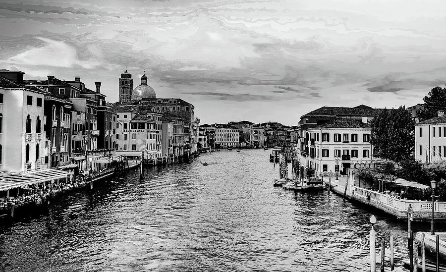 Grand Canal Venice Italy by Robert Blandy Jr
