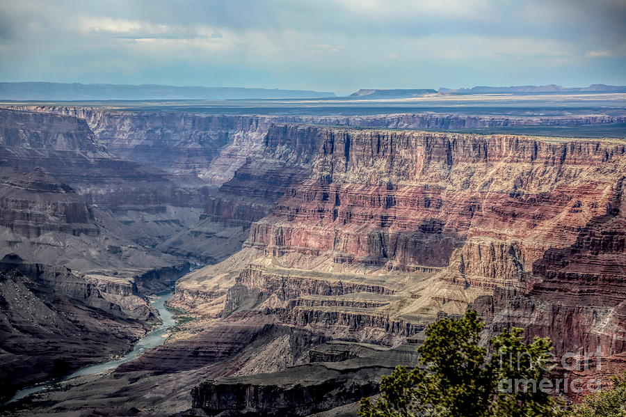 Grand Canyon Colorado River Flows  by Chuck Kuhn