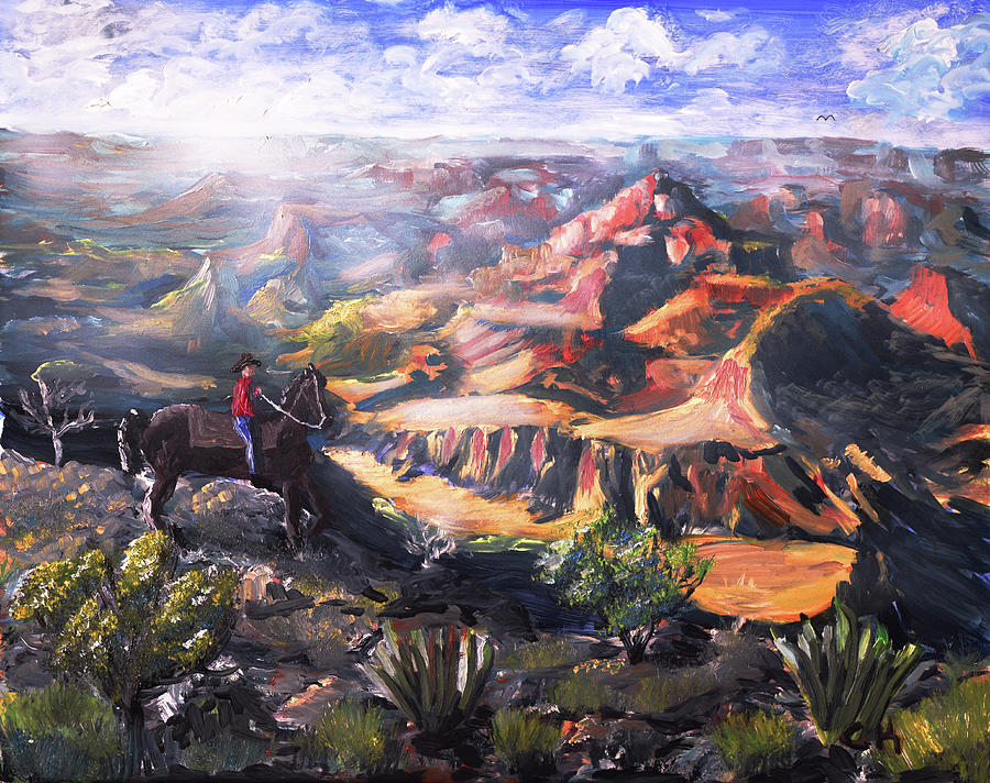 Grand Canyon Cowboy by Chance Kafka