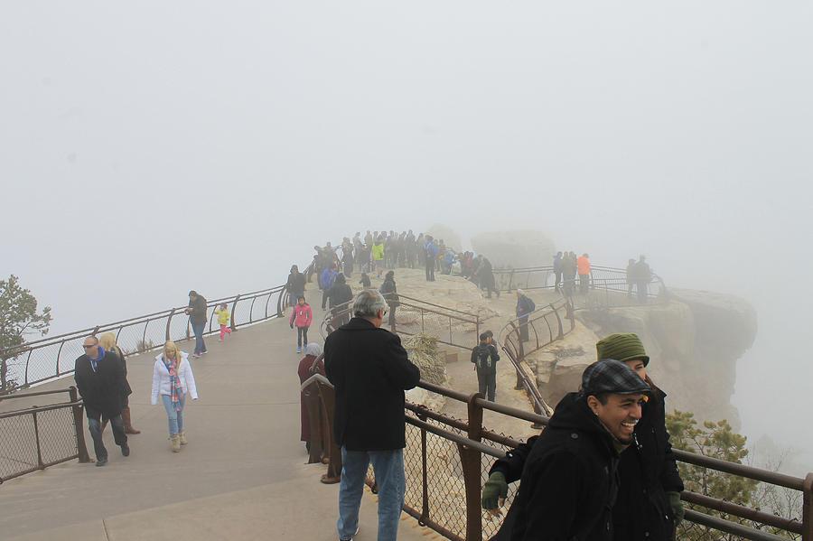 Grand Canyon Fog by Jonathan Thompson