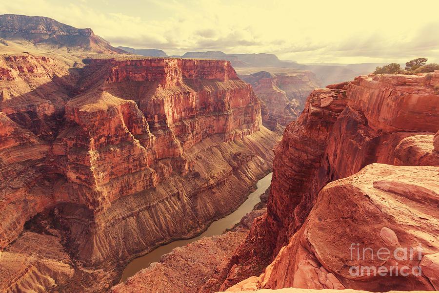 Serenity Photograph - Grand Canyon by Galyna Andrushko