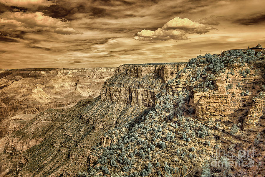 Grand Canyon In Infrared #2 Photograph
