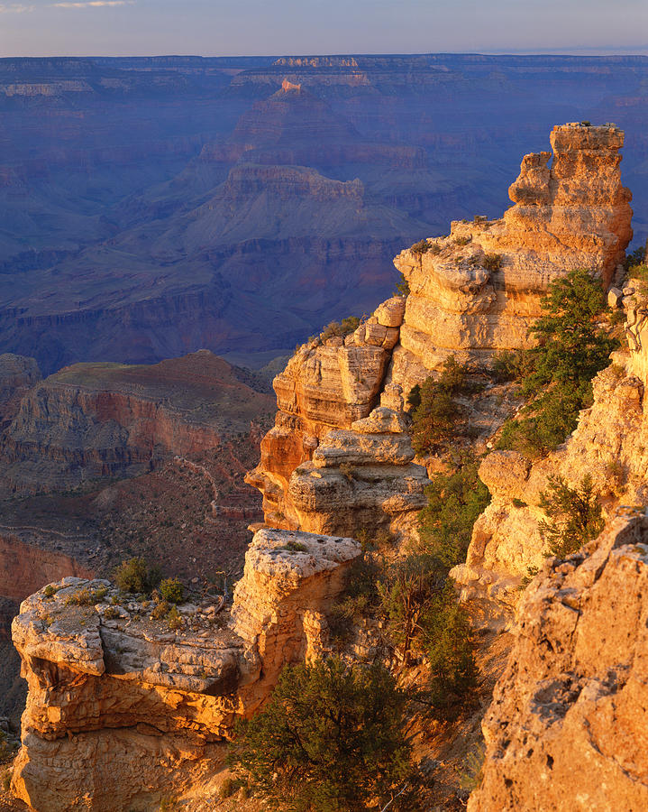 Scenic Photograph - Grand Canyon National Park   P by Ron thomas