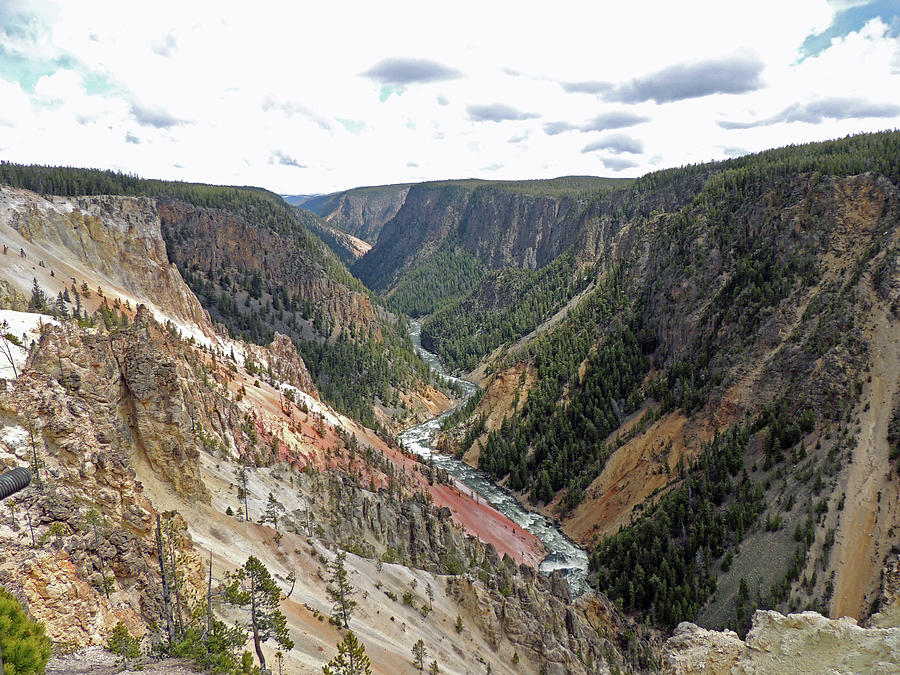 Grand Canyon of the Yellowstone River by Jayne Wilson