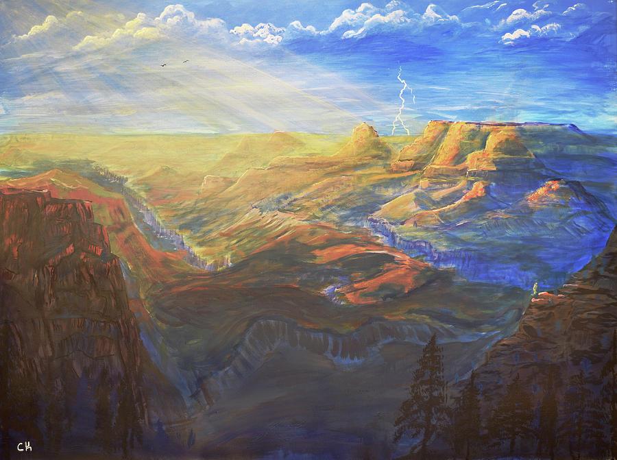 Grand Canyon Painting by Chance Kafka