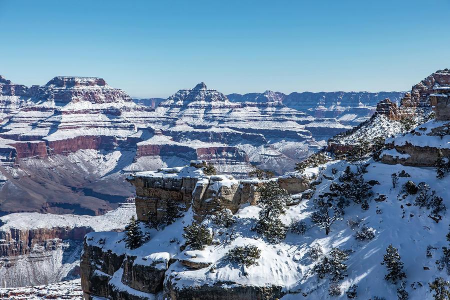 Grand Canyon Snow by James Menzies