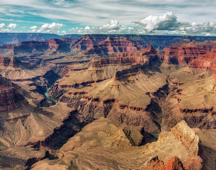 Grand Canyon South Rim by Brenda Jacobs