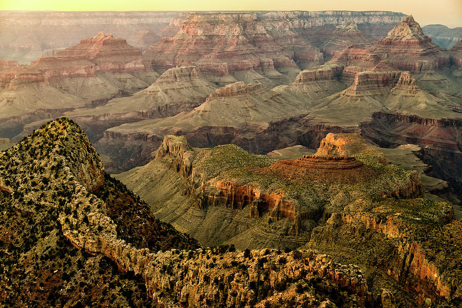 Grand Canyon Sunset by Mati Krimerman