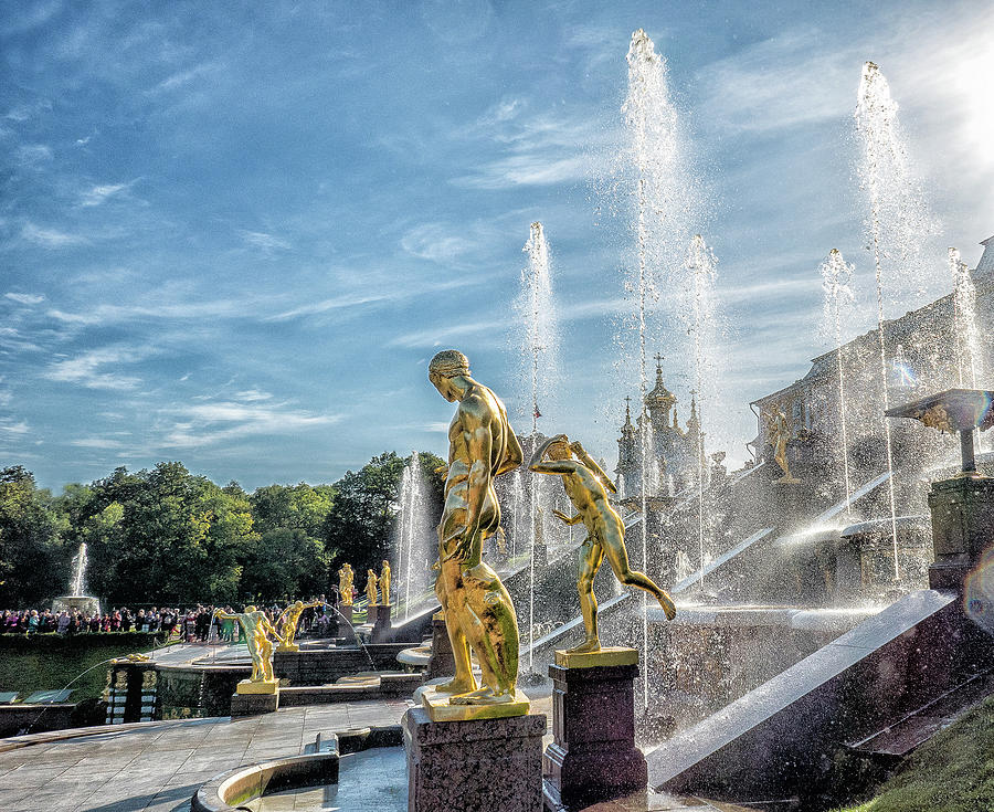 Grand Cascade, Peterhof by Photos By Pharos