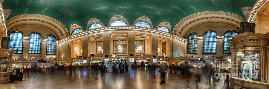 Grand Central Panorama by Joseph Perno