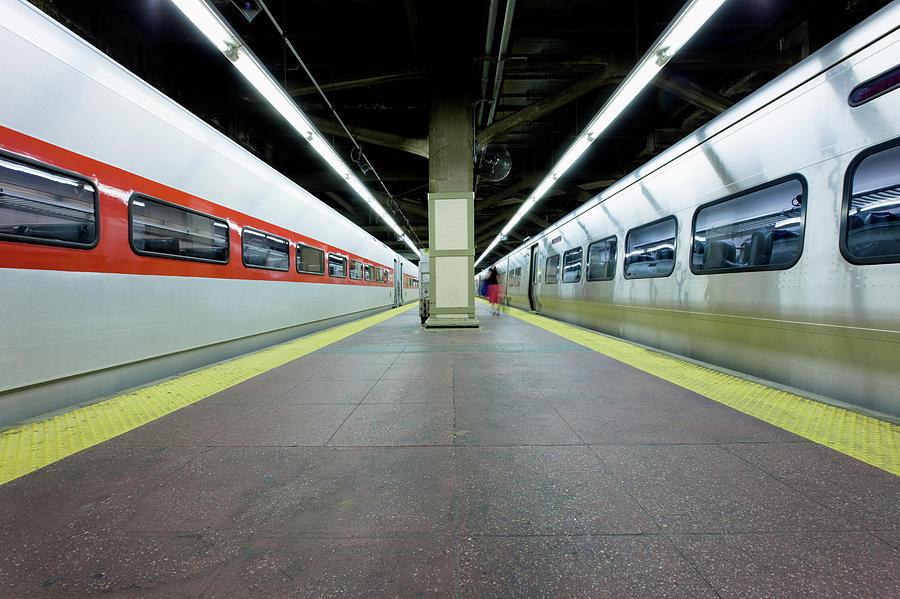 Grand Central Station Train Platform Photograph by Mlenny
