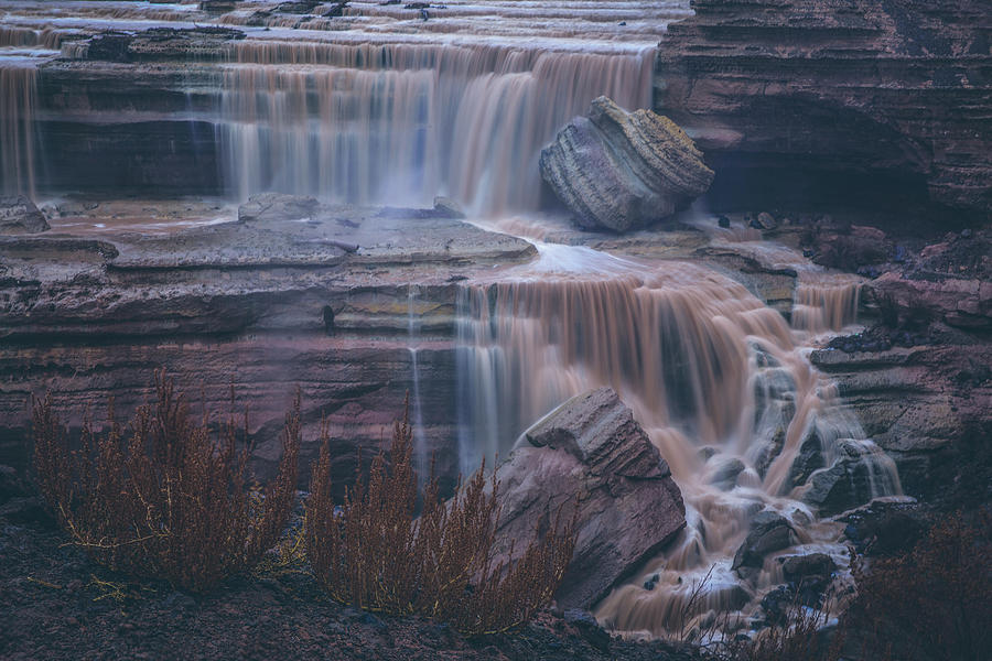 Grand Falls in Flood by Ryan Lima