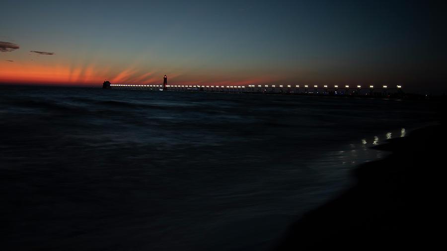 Grand Haven Pier Lighting Ceremony 9301907 by Rick Veldman