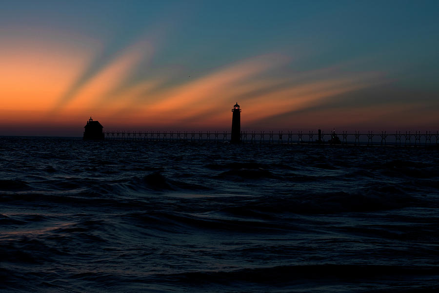 Grand Haven Pier Lighting Ceremony 9301908 by Rick Veldman