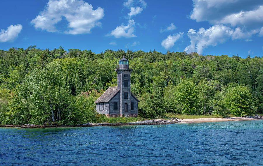 Grand Island East Channel Lighthouse by Gary McCormick
