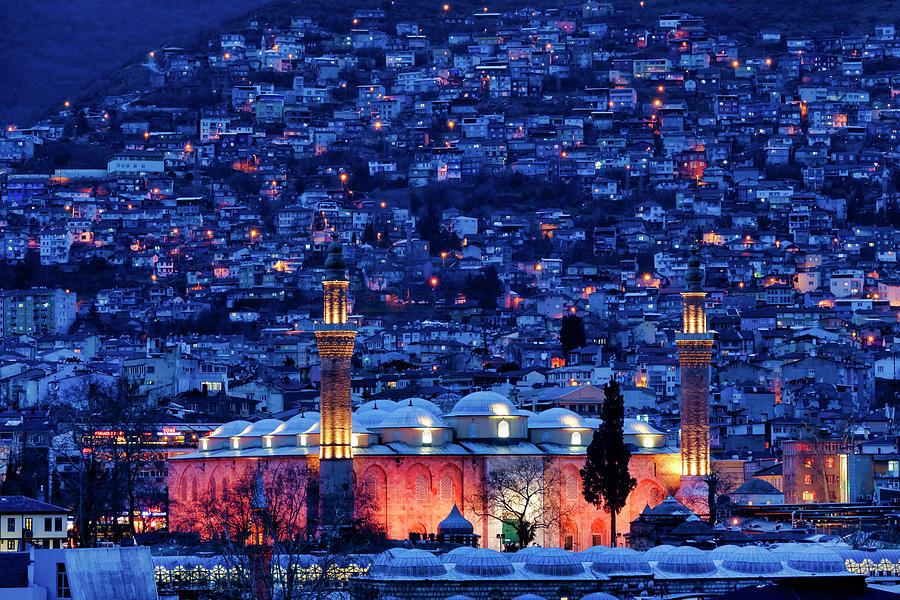 Grand Mosque of Bursa by Fabrizio Troiani