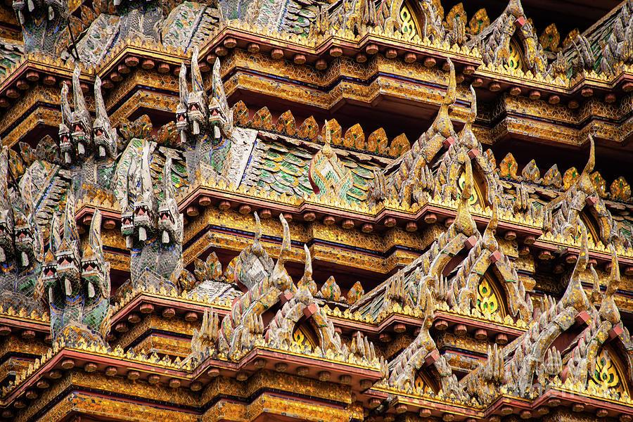 Grand Palace Temple Mini-Naga  by Bob Phillips