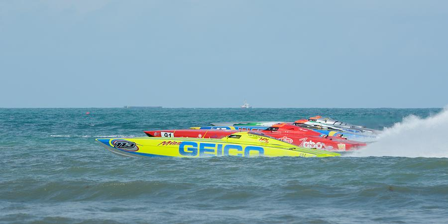 Grand Prix powerboat racing ClassONE  by Bradford Martin