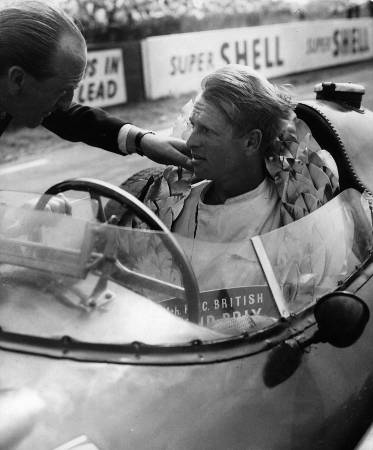 Grand Prix Win Photograph by Keystone