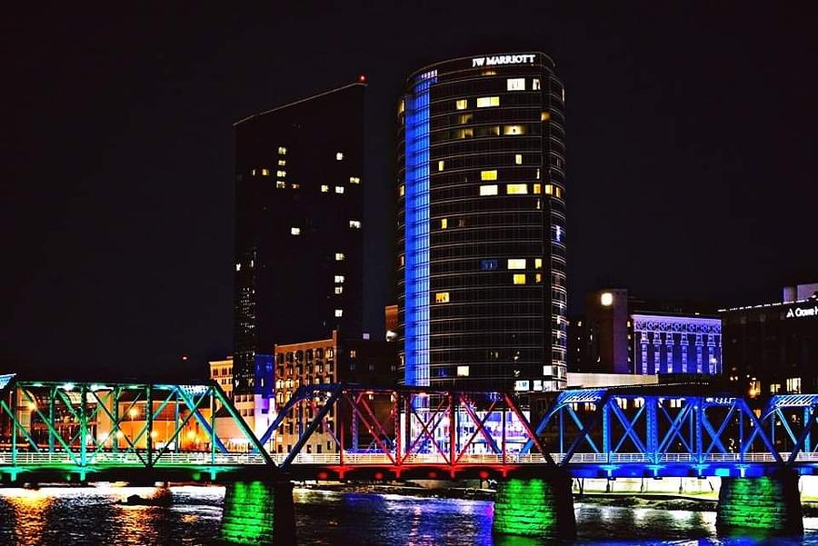 Grand Rapids Photograph By Beau Swanson