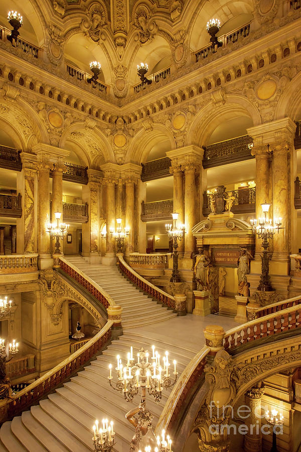 Grand Staircase Palais Garnier by Brian Jannsen