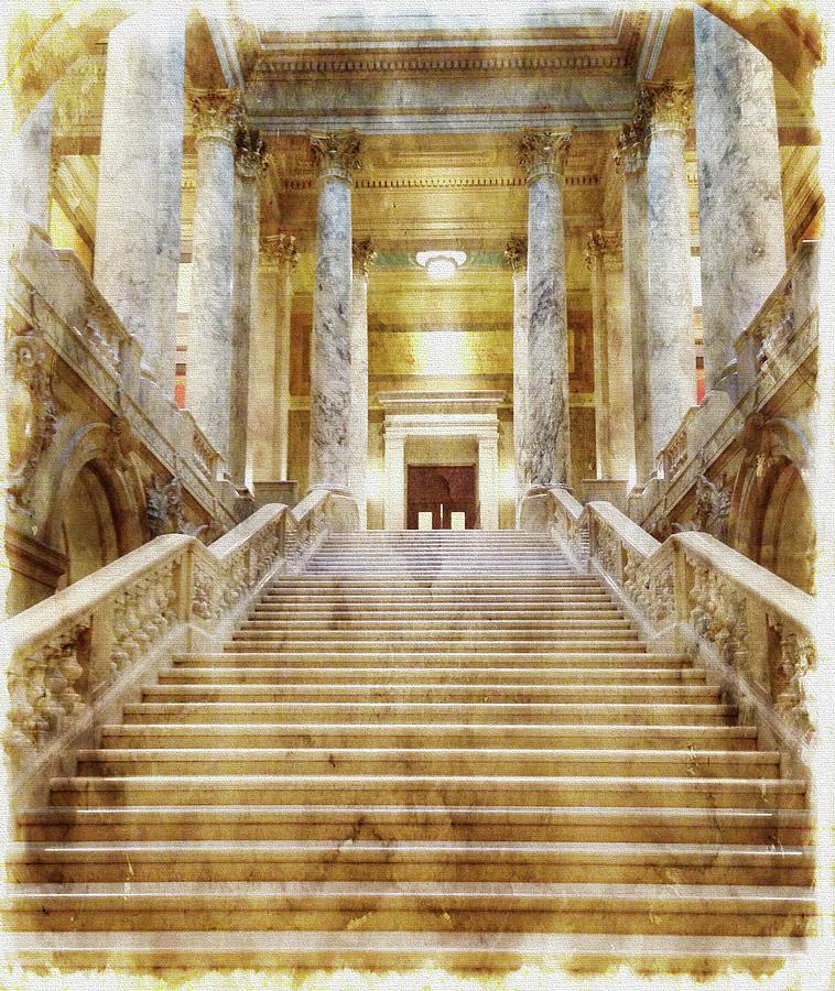 Grand Stairs by Tom Reynen