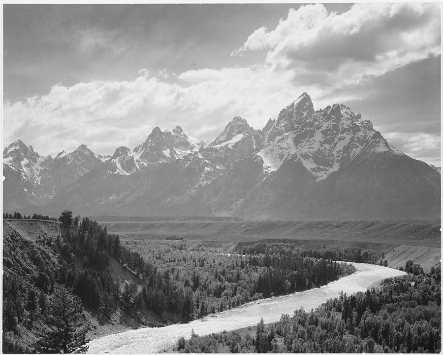 Grand Teton Photograph by Buyenlarge