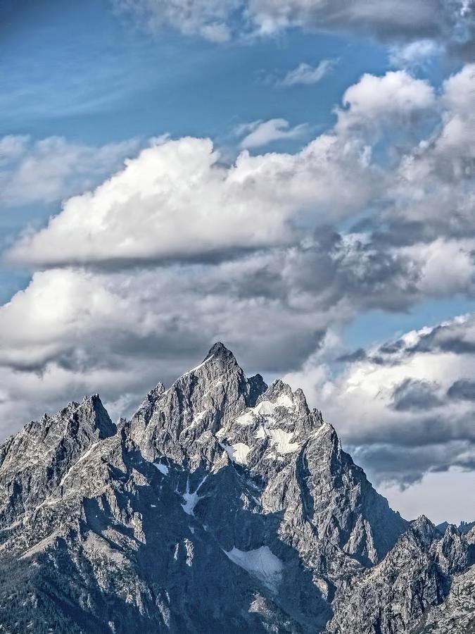 Grand Teton Mountain Wyoming Photograph