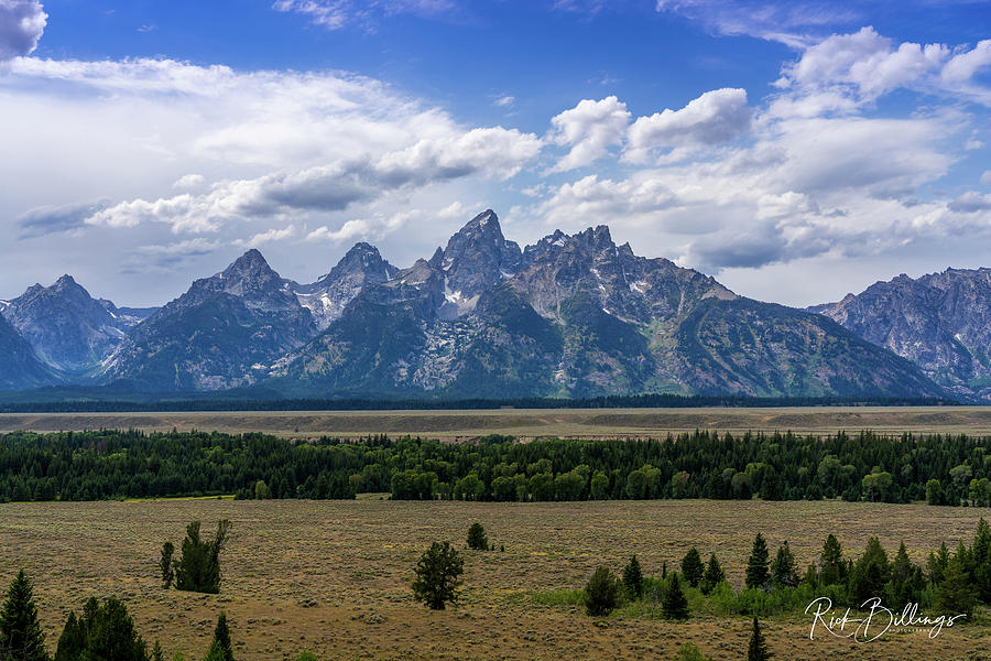 Grand Teton No 1075 by Rick Billings