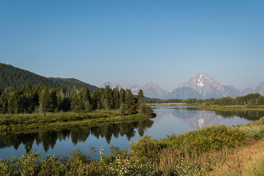 Grand Teton River View by Michelle McConnell