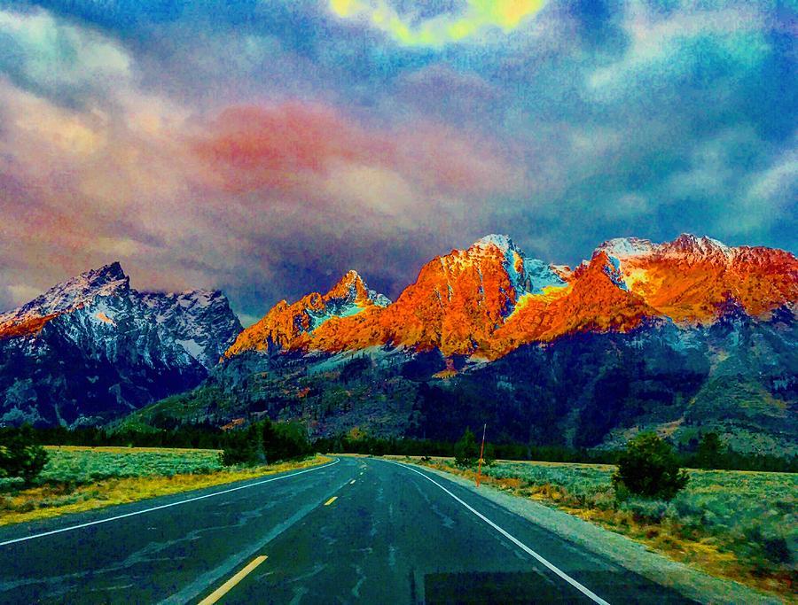 Grand Teton Sunrise Magic by Michael Oceanofwisdom Bidwell