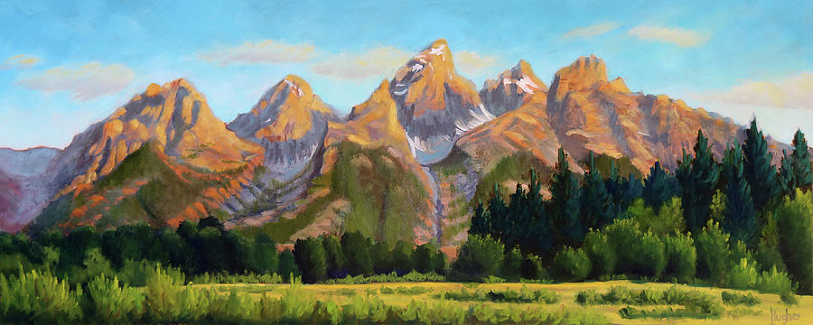 Grand Tetons by Kevin Hughes