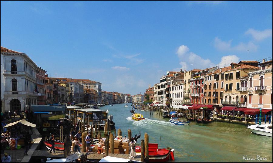 Grande Canal - Venice by Nina-Rosa Duddy