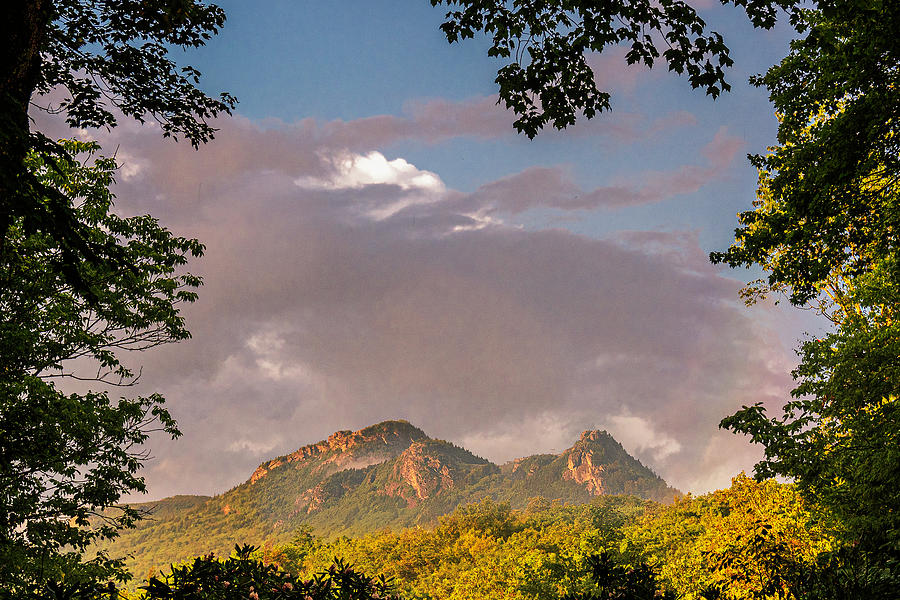 Grandfather Mountain Framed by Ken Barrett