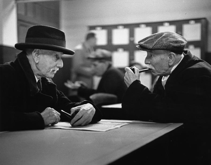 Grandfathers Photograph by Bert Hardy