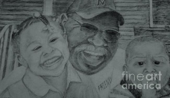 Grandpa Drawing