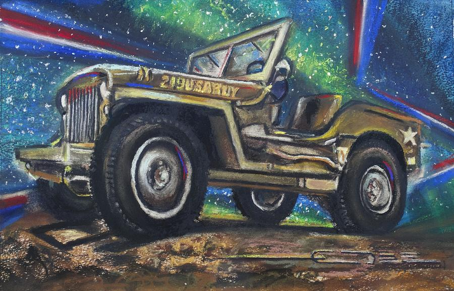 GrandPa Willie's Willys Jeep by Eric Dee