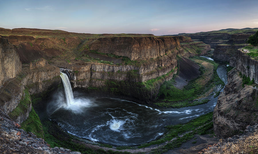 Grandure of Palouse Falls by Mark Kiver