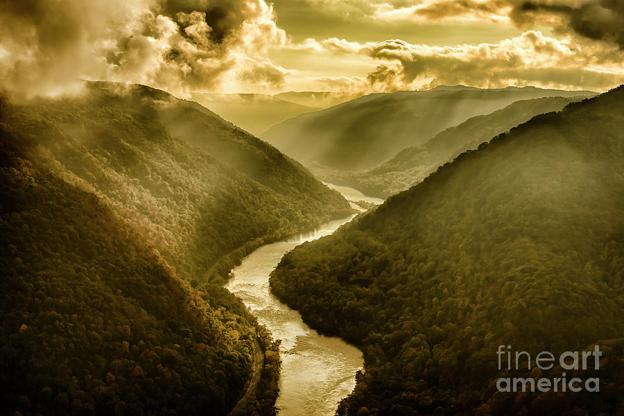 Grandview Morning Light by Thomas R Fletcher