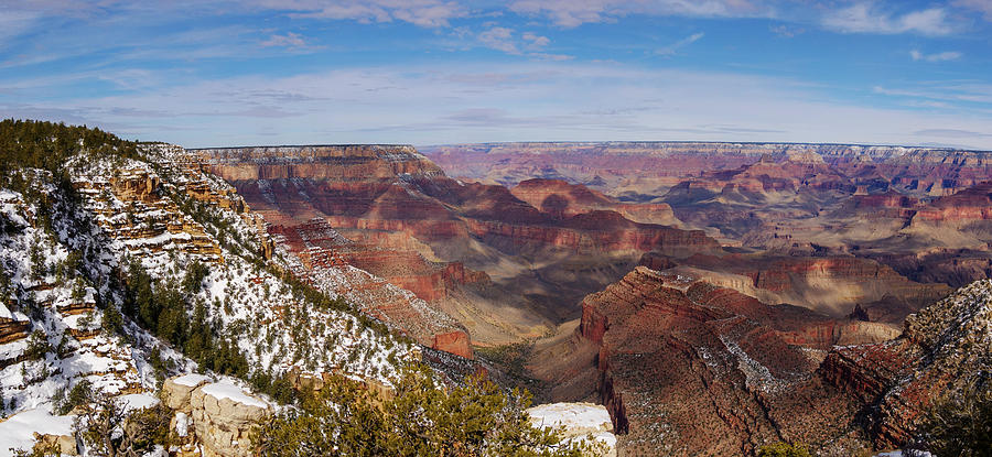 Grandview Point Panorama by Todd Bannor