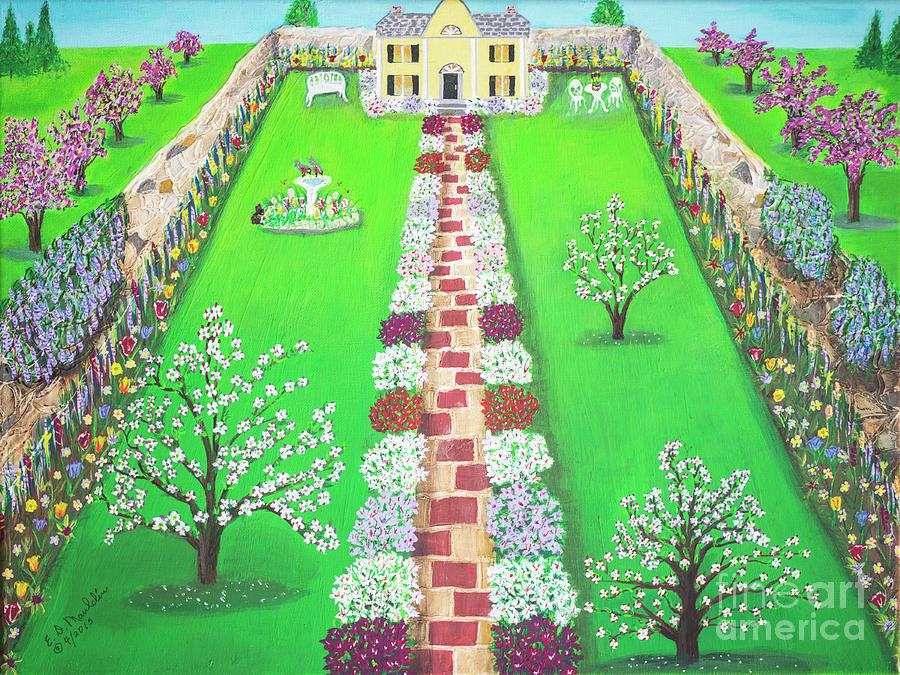 Granny's Biltmore Gardens on Chestnut Street by Elizabeth Dale Mauldin