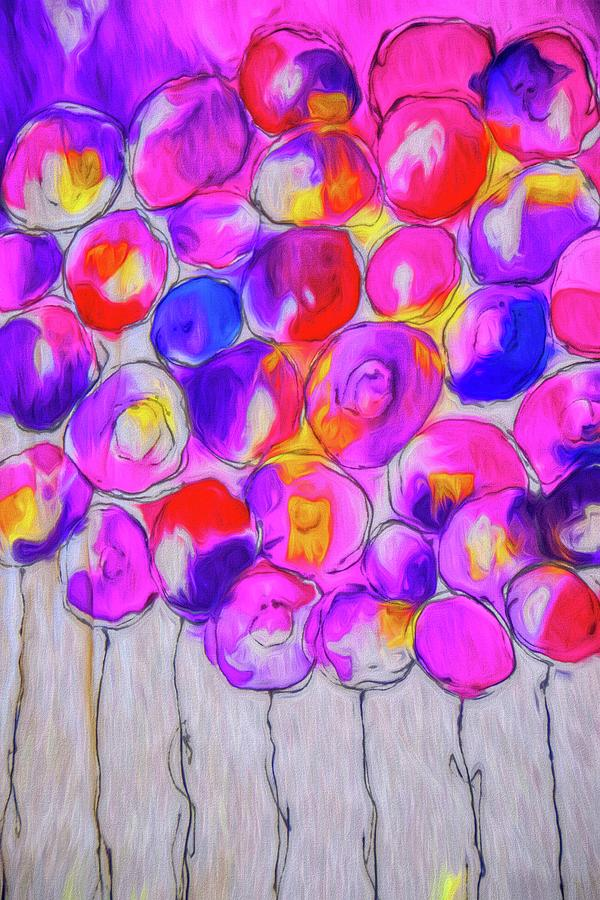 Grape Balloons by Alice Gipson