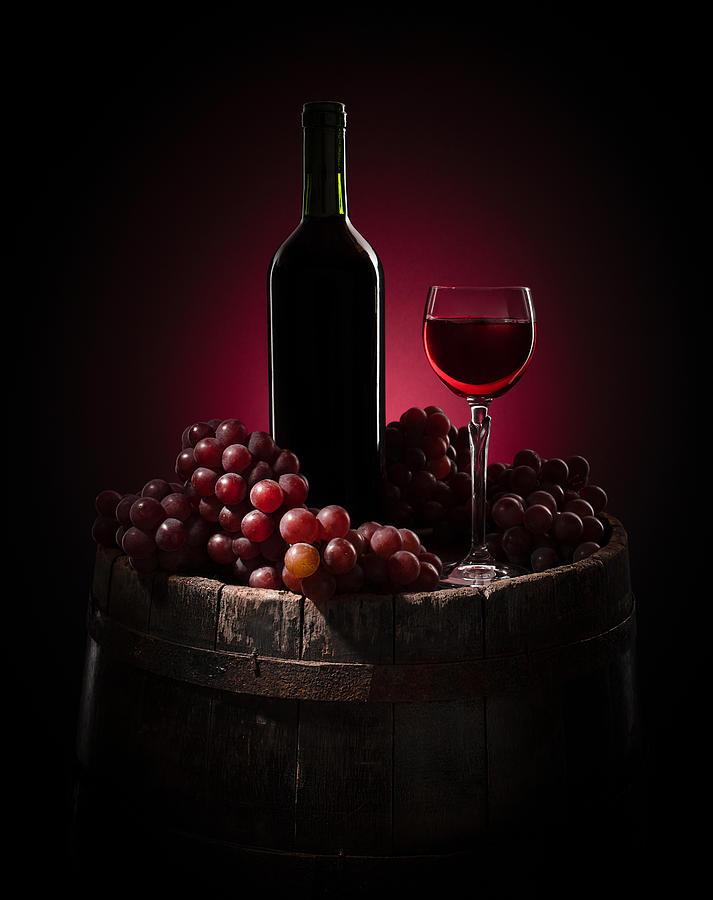 Stilllife Photograph - Grape Harvest by Margareth Perfoncio